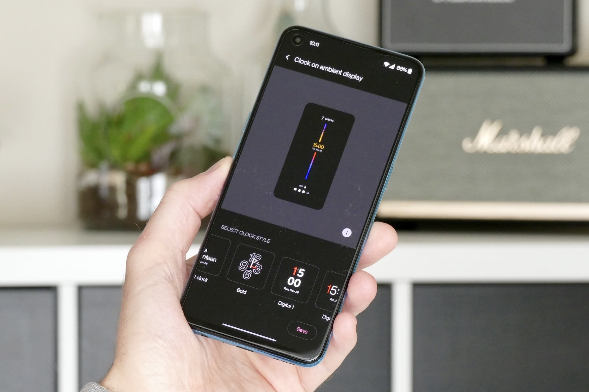 oneplus nord ce 5g review always on screen