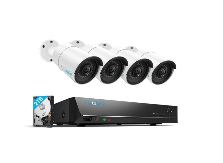 The Reolink Eight Channel PoE Video Surveillance System.