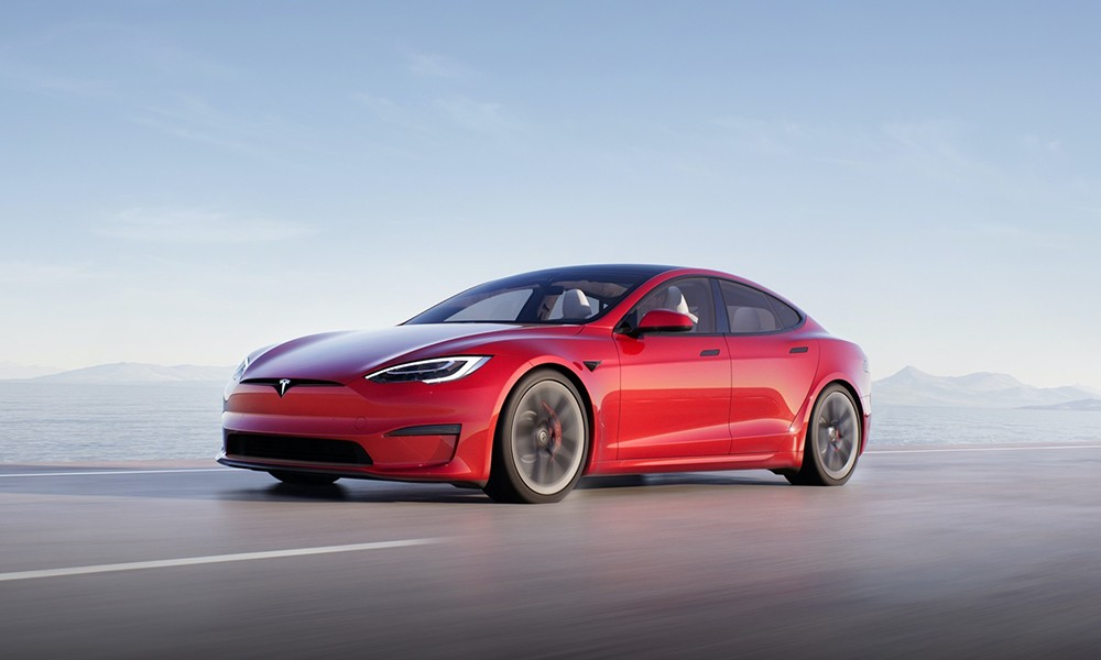 Tesla Model S second place for best-selling used EV in the US