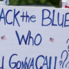 Utah Woman Charged With Hate Crime for Stomping on 'Back the Blue' Sign – Reason.com