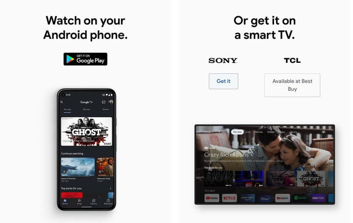Current options to get Google TV with Android or smart TVs.