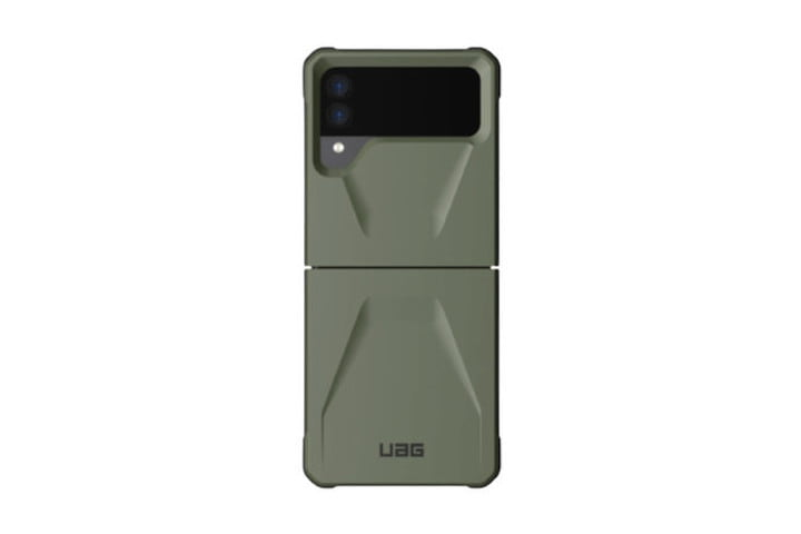 UAG Civilian Tough Case in Olive for the Samsung Galaxy Z Flip 3.