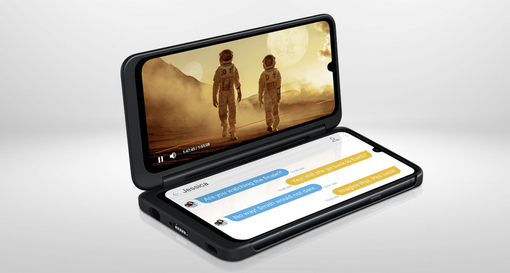 LG's second screen case